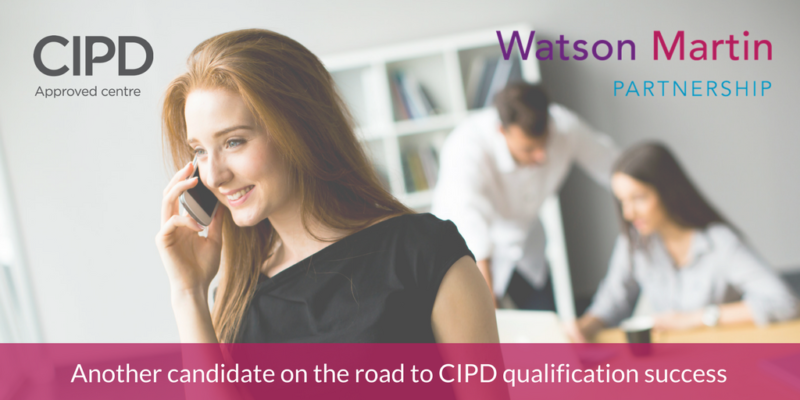 Another Candidate is on the Road to CIPD Qualification Success