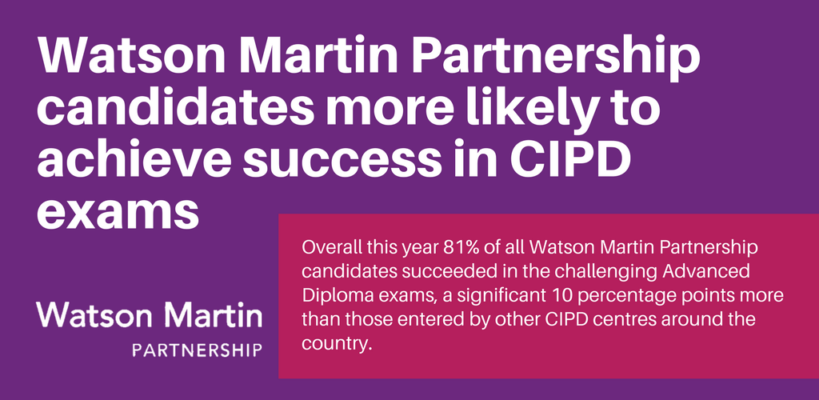 More likely to achieve CIPD success!