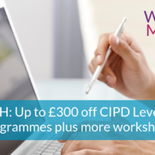 NEWSFLASH_300-off-CIPD-Level-5-Dip