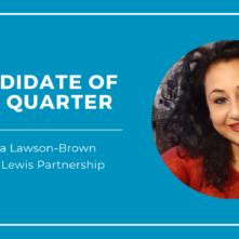 Candidate of the Quarter - Saira Lawson-Brown (2)