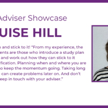 Adviser Showcase - Louise Hill