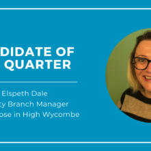 Candidate of the Quarter: Elspeth Dale